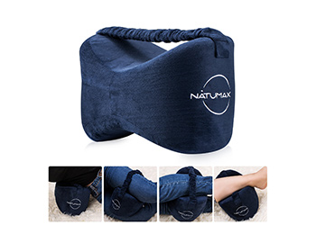 best bed pillow for side sleepers Natumax Knee