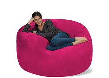 Chill Sack giant memory bean bag pillow